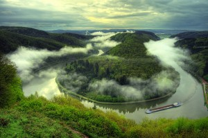 The Saar River in Germany's Rhineland